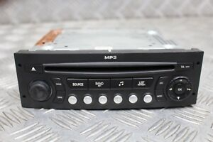 Auto-radio-CD-MP3-Peugeot-207-307-1007-Citroen-C2-C3-RD4N2M-00