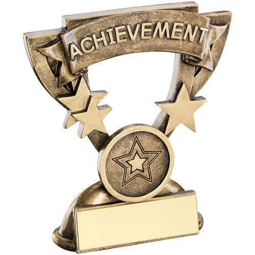 ACHIEVEMENT MINI CUP TROPHY with FREE Engraving