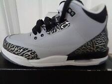Nike Air Jordan 3 retro BG trainers sneakers 398614 004 uk 3.5 eu 36 us 4 Y NEW