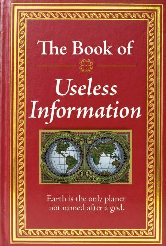The Book Of Useless Information 2011, Hardcover  - $0.99
