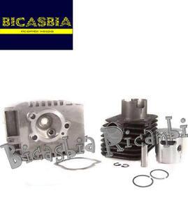 0345 Cylindre Tête Dm. 43 Axe De Piston 10 Piaggio Bravo - Oui Bicasbia