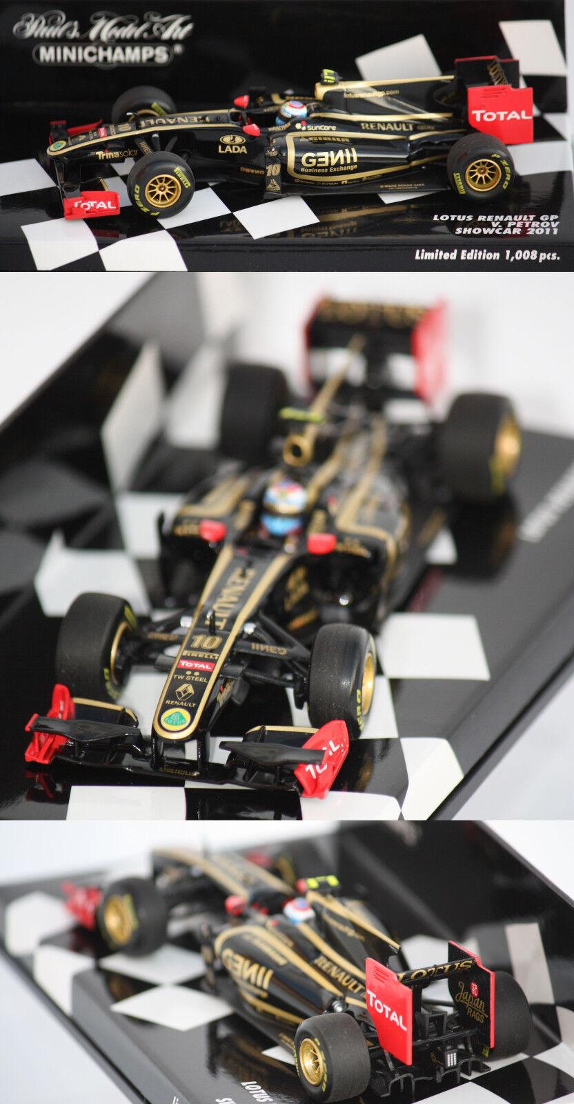 Minichamps F1 Lotus Renault Gp ShowCoche 2011V. Petrov 1 43 410110080