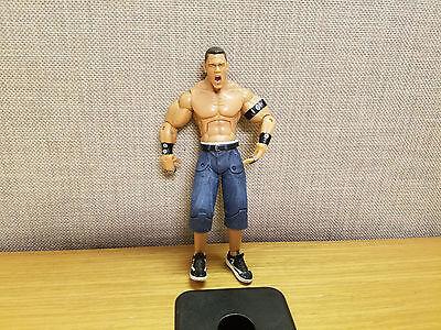 WWE JAKKS bordo aggressione Grigio Pantaloni WRESTLING CLASSIC SUPERSTAR Figura Nuovo!