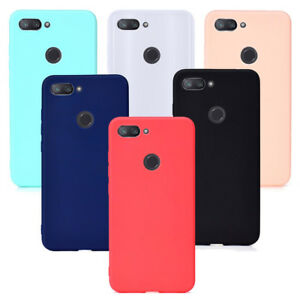 huge discount cebc1 44a82 Details about For Xiaomi Mi 8 Lite Ultra Thin matte Rubber Silicone Case  cover