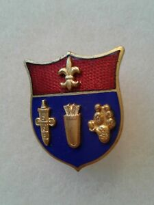 Authentic-WWII-US-Army-125th-Artillery-Regiment-DI-DUI-Unit-Crest-Insignia-NH