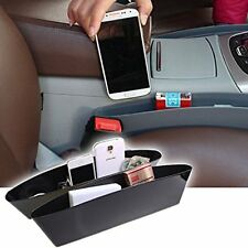 2 Pcs Auto Catch Catcher Box Caddy in Car Seat Gap Slit Pocket Storage Organizer