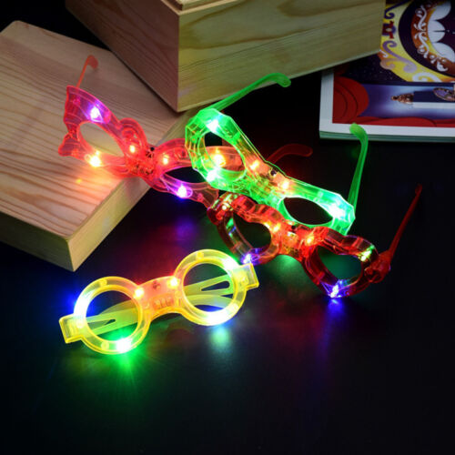 LED EL Wire Glasses Light Up Glow Luminous Glasses Eyewear Nightclub Party Prom