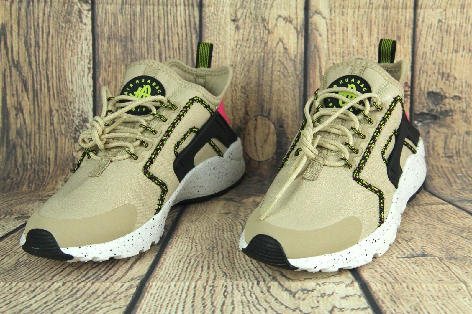 Nike Air Huarache Run Ultra SI SZ Running Shoes Mushroom Black 881100-200 WMNS SZ SI 7 4b30df