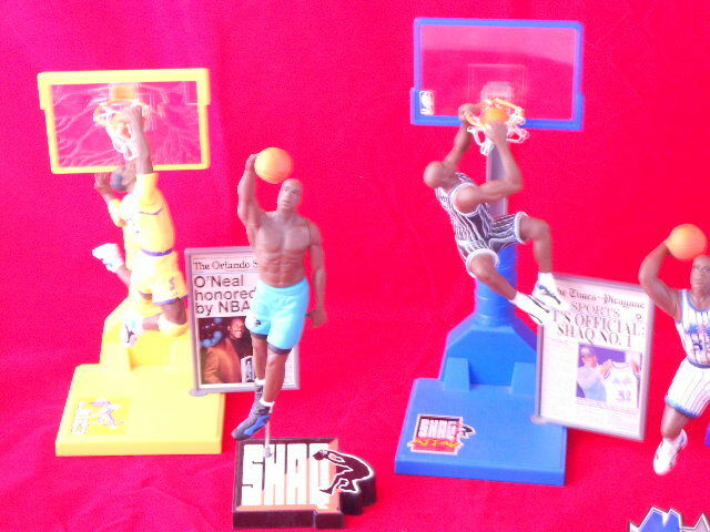 Shaquille O'Neal Various 5  to 7 7 7  Action Figures 1c6e9b