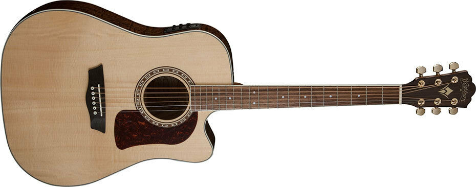 Washburn HD30SCE Heritage Series Dreadnought Cutaway Acoustic-Electric Guitar