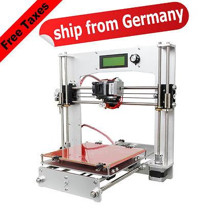 Geeetech aluminium plein Prusa I3 3D imprimante LCD MK8