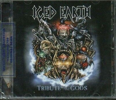 ICED EARTH TRIBUTE TO THE GODS SEALED CD NEW 2010