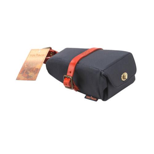 Tourbon Bike Pouch Pannier Saddle Bag MTB Tube Rear Rack Seat Tool Case Cycling