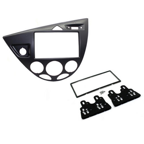CT23FD35L FORD FOCUS 1999 to 2005 GRAPHITE LEFT HAND DRIVE DOUBLE DIN FACIA