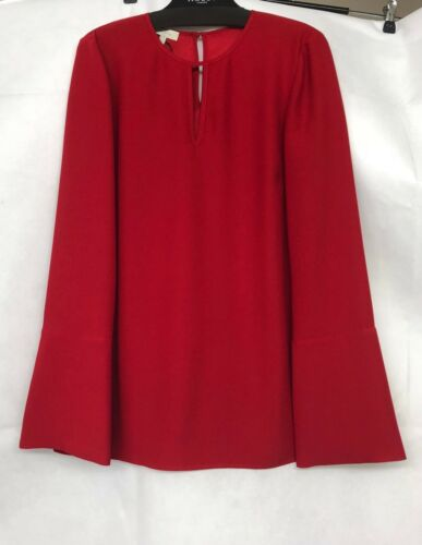 Red Uk Blouse Taglia Primrose £ Hobbs Rrp 89 8 4wI15