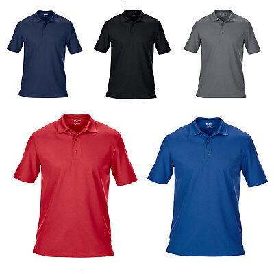Gildan Mens Double Pique Performance Polo Shirt