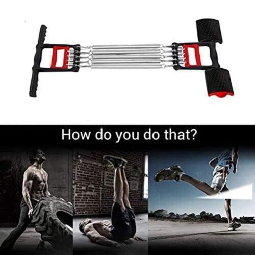 1X Multifunktions Brust Expander Arm Training Spring Brust Entwickler KlimmA2S5