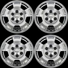 """4 Silverado Tahoe Suburban 17"""" 6 Lug CHROME Wheel Skins Hub Caps Full Rim Covers"""