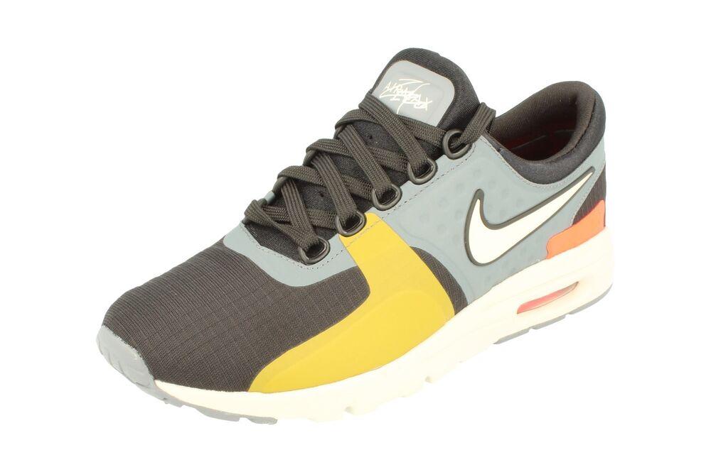 Nike Air Max Zero Si Femme Running Baskets 881173 001 Baskets Chaussures- Chaussures de sport pour hommes et femmes