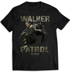 The-Walking-Dead-Rick-Grimes-Daryl-Dixon-Official-Tee-T-Shirt-Mens-Unisex