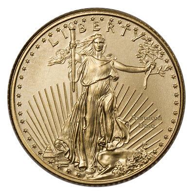 RANDOM DATE - 1/10 Troy oz. Fine Gold American Eagle $5 Coin SKU26123