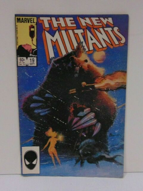 (MA4) The New Mutants #19 (Sep 1984, Marvel)