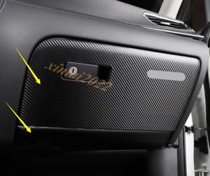 Carbon fiber Car Door Anti Kick Pad Guard Panel trim For Toyota Avalon 2019 2020