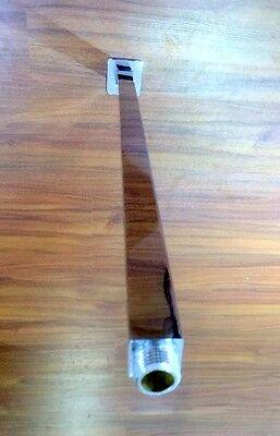 Designer Square Ceiling Drop 450mm Shower Arm