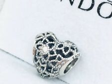 108068bc2 item 1 Pandora Genuine Silver Blooming Heart Charm #796264CZ -Pandora  Genuine Silver Blooming Heart Charm #796264CZ