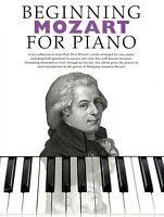 Beginning Mozart For Piano Sheet Music Beginning Piano Series Book 014003849