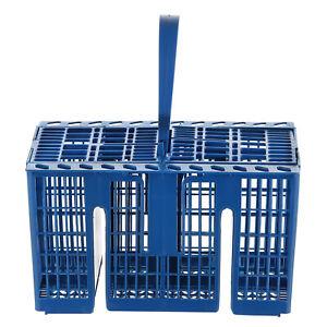 Premium Bleu Qualité Plateau Panier Couverts Lave Vaisselle Rack Caddie Pour