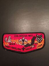 OA CHI-HOOTA-WEI LODGE 617 S9 FLAP