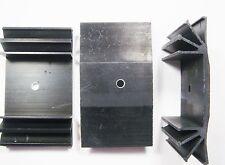 1 x Kühlkörper TO3 TO220 RthK 2 K/W Aluminium eloxiert(70,5x40x15mm) #21K10#