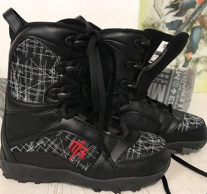 Millennium Drei M3 Militia Jr Snowboard Stiefel Größe 6 -neu in Box