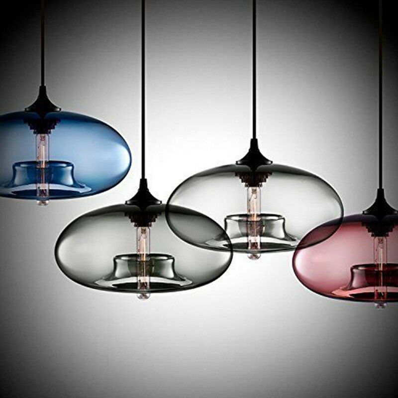 Ceiling Lamp Glass Cover: Antique DIY Ceiling Lamp Crystal Glass Cover Pendant