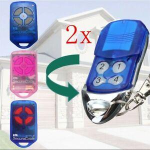 2x-Remote-Control-Compatible-For-ATA-PTX4-GDO-SecuraCode-GarageDoor