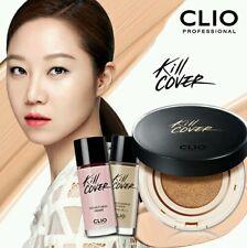 CLIO Kill Cover Liquid Founwear Cushion Set #2,1pack (15g+20ml+20ml),US seller!