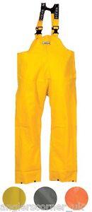 Ocean-Off-Shore-Bib-amp-Brace-Trousers-460g-PVC-Work-Wear-Fishing-18-13