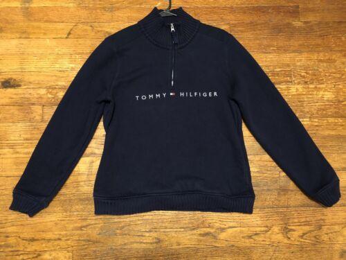 Tommy Hilfiger Logo Quarter-zip Pullover