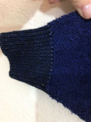 People Boatneck a M bianche Blu Candyland righe scuro maglione Free Pullover Nwt 7qw1OH1