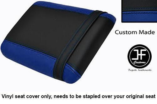 BLACK /& ROYAL BLUE VINYL CUSTOM FITS HONDA XL 125 01-12 VARADERO SEAT COVER ONLY