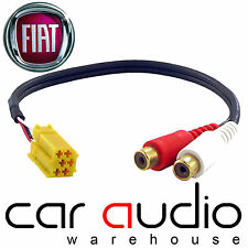 CT29FT01 FIAT GRANDE PUNTO AUTO RADIO STEREO AUX IN MP3 iPod iPhone cavo di piombo