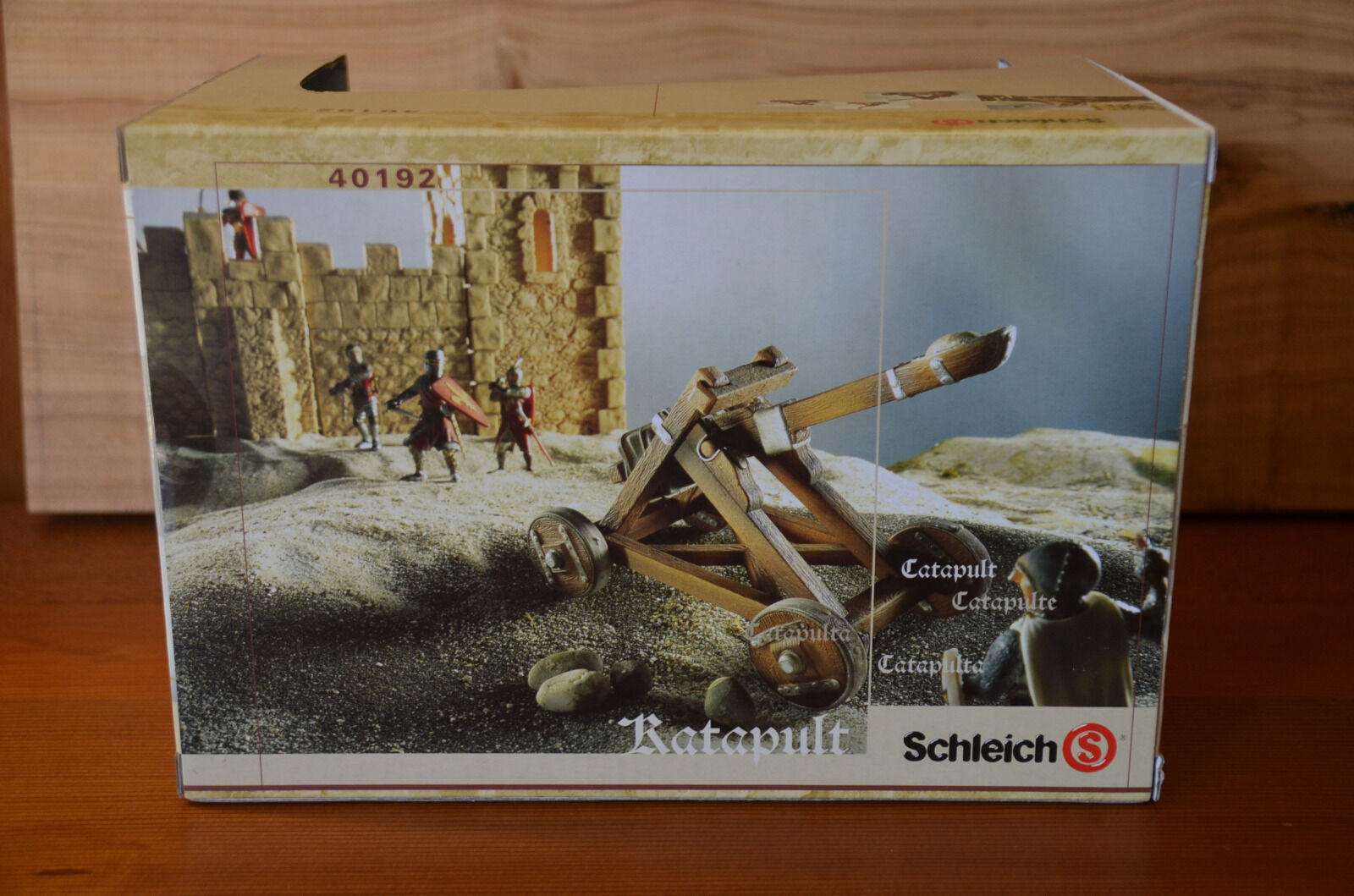 SCHLEICH 'Catapult' BOXED. BRAND NEW. World Of Knights.