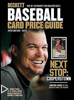 Beckett Baseball Card Guide 40th Edition 2018 For Sale Online Ebay