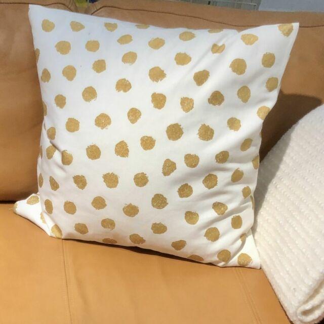 Fodera Per Cuscino Ikea Skaggort 50x50 Cm Bianco E Dorato Skaggort Acquisti Online Su Ebay