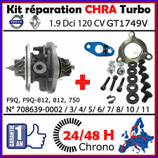 CHRA TURBO GARRETT GT1749V RENAULT 1.9 DCi 120 F9Q 708639 LAGUNA SCENIC MEGANE