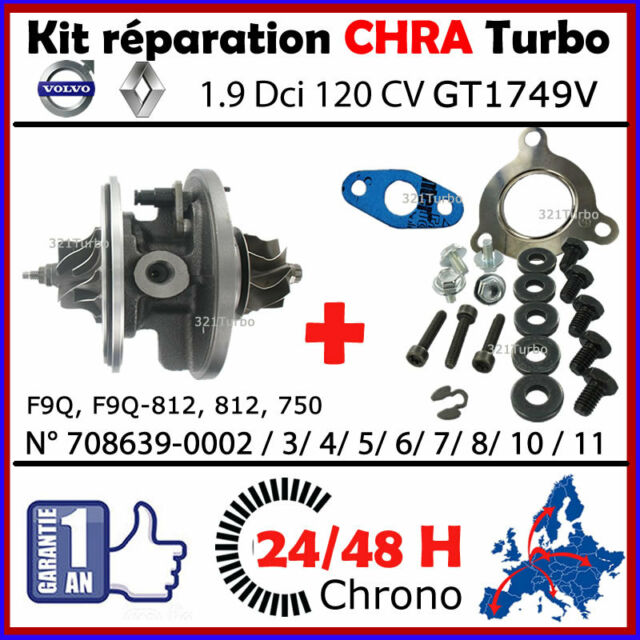 Turbolader  Rumpfgruppe  Nissan Primera 1.9 DCI  88 Kw// 120 PS 708639-5