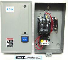item 1 eaton air compressor magnetic starter 7 5 hp 230 volt single phase  b27cgf40b040 -eaton air compressor magnetic starter 7 5 hp 230 volt single  phase