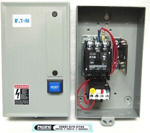 eaton air compressor magnetic starter 7 5 hp 230 volt. Black Bedroom Furniture Sets. Home Design Ideas