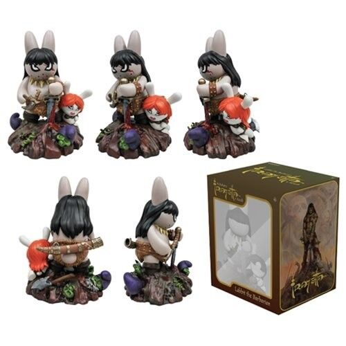 NEW Labbit The Barbarian Kidrobot By Frazetta x Kozik and Kidrobot Barbarian 10 Inch Vinyl Figure 61681a